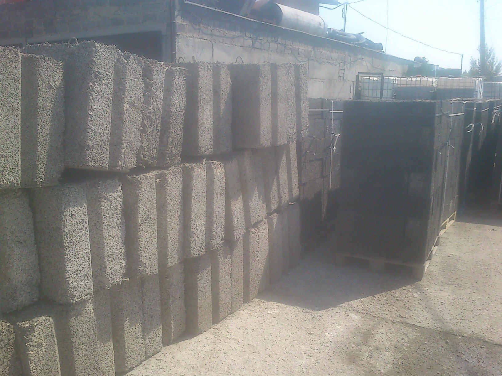 Арболитовый крупноформатный блок 12х4х6